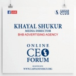 ONLINE CEO FORUM - KHAYAL SHUKUR