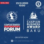 10th International Caspian Energy Investment Forum & 5th International Caspian Business Award 2020 - 23.12.2020